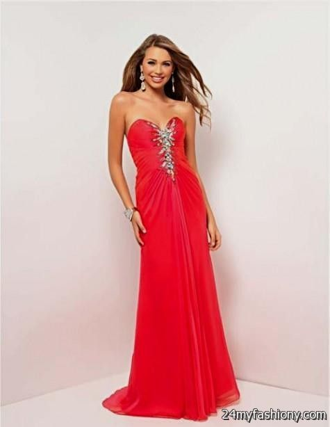 Prom Dresses Open Back Strapless 94