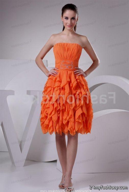 orange party dress 2016-2017 » B2B Fashion