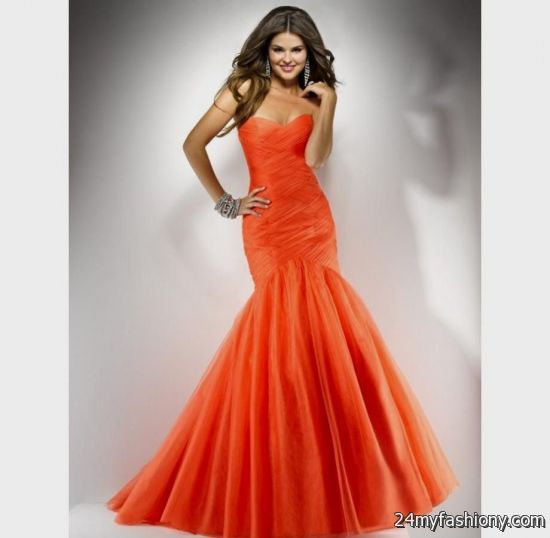 orange prom dress 2016-2017 | B2B Fashion