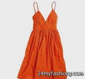 f3a19f09966 Look your best in these sexy prom dresses! Pin it. Like! You can share  these orange sundress wedding on Facebook ...