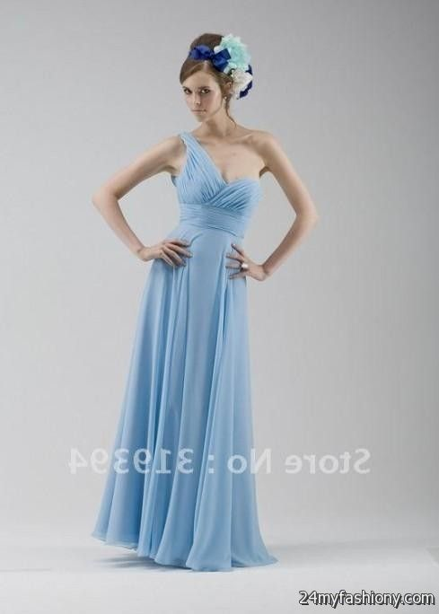 pale blue chiffon bridesmaid dresses 20162017 b2b fashion
