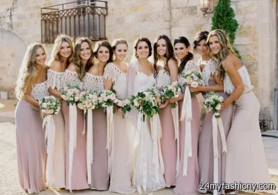 You Can Share These Pale Pink Bridesmaid Dresses Mismatched On Facebook Stumble Upon My E Linked In Google Plus Twitter And All Social