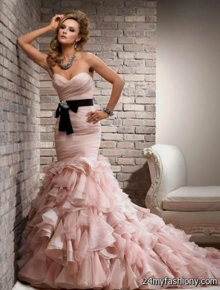 Pale pink wedding dress 2016 2017 b2b fashion customize your dress and stand out from the crowd look your best in these sexy prom dresses pin it like you can share these pale pink wedding junglespirit Images