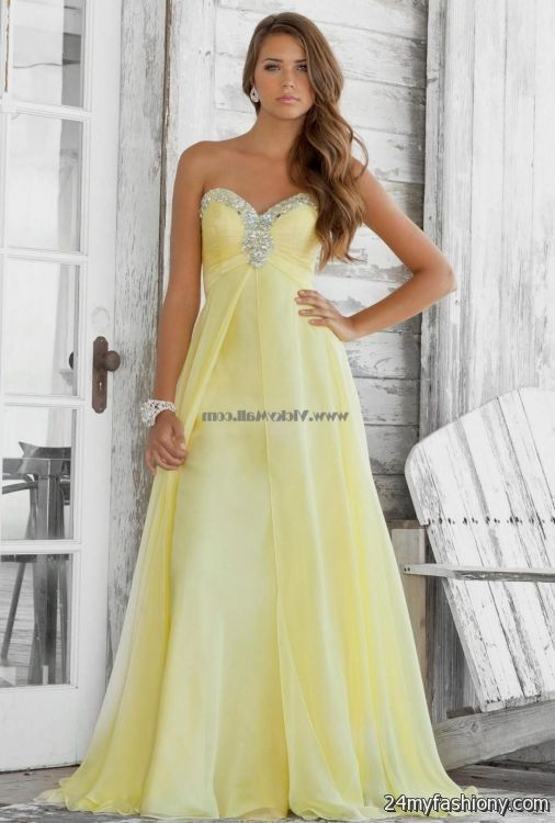 Yellow bridesmaid dresses 2017 wedding guest dresses for Yellow wedding dresses for sale