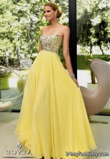 Pale Yellow Prom Dresses Looks B2b Fashion