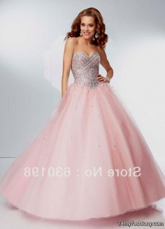 Quinceanera dresses coral pink 2017