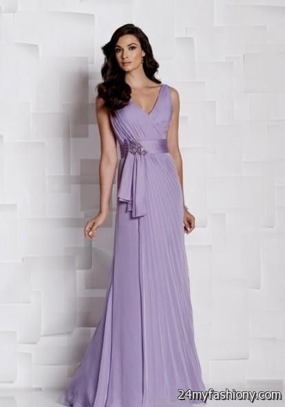 Pastel Purple Bridesmaid Dresses Looks B2b Fashion