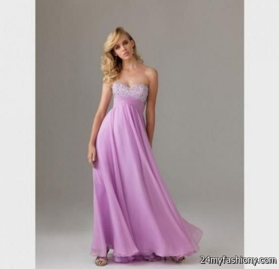 Pastel Purple Prom Dresses Looks B2b Fashion