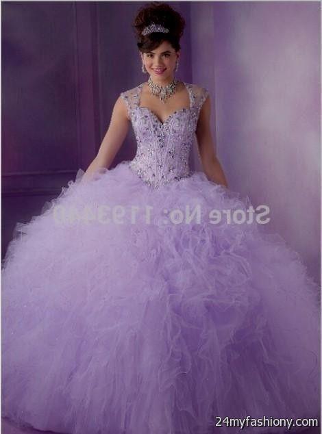 Light Purple 15 Dresses