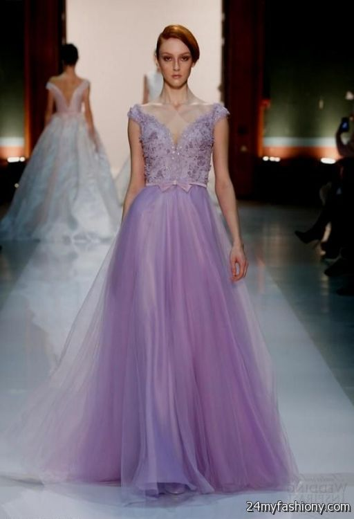 Pastel Purple Wedding Dress Looks B2b Fashion