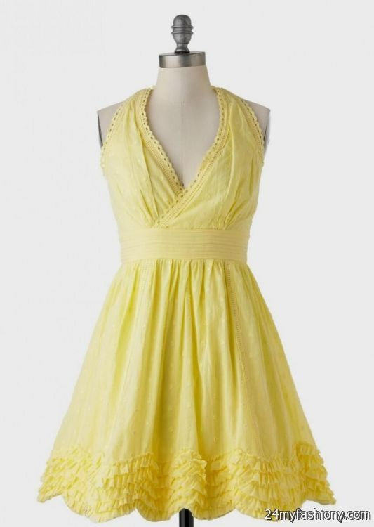 922535bb86e You can share these pastel yellow sundress on Facebook