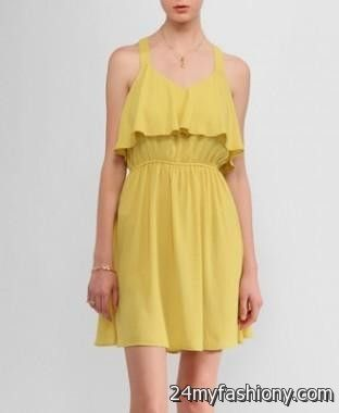 pastel yellow sundress 20162017 b2b fashion