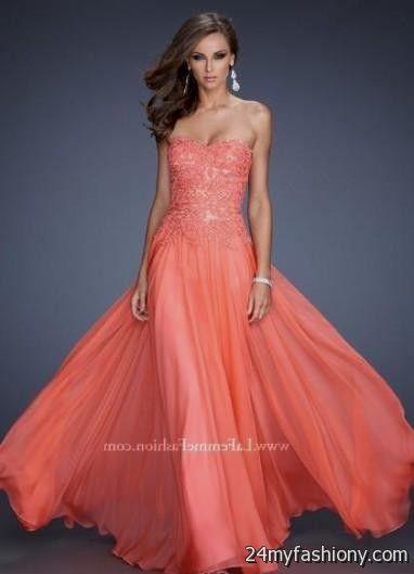 peach colored prom dress 2016-2017 | B2B Fashion