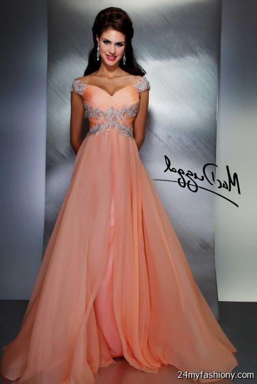 peach prom dress 2016-2017 | B2B Fashion