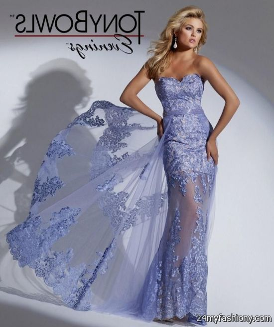 periwinkle lace prom dress 2016-2017 | B2B Fashion