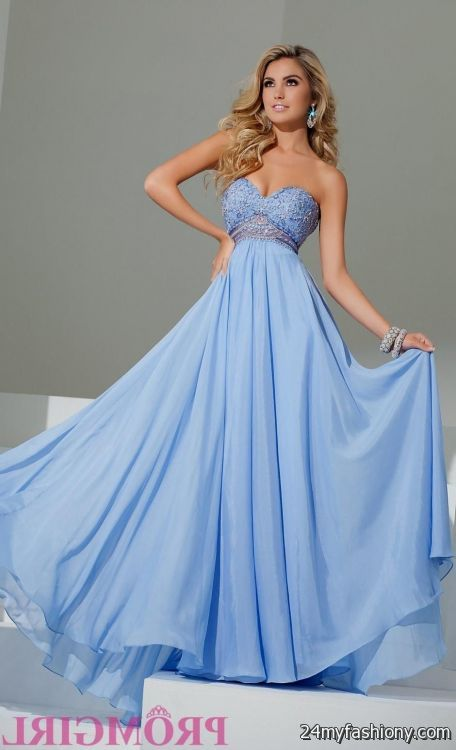 Periwinkle Prom Dress Looks B2b Fashion
