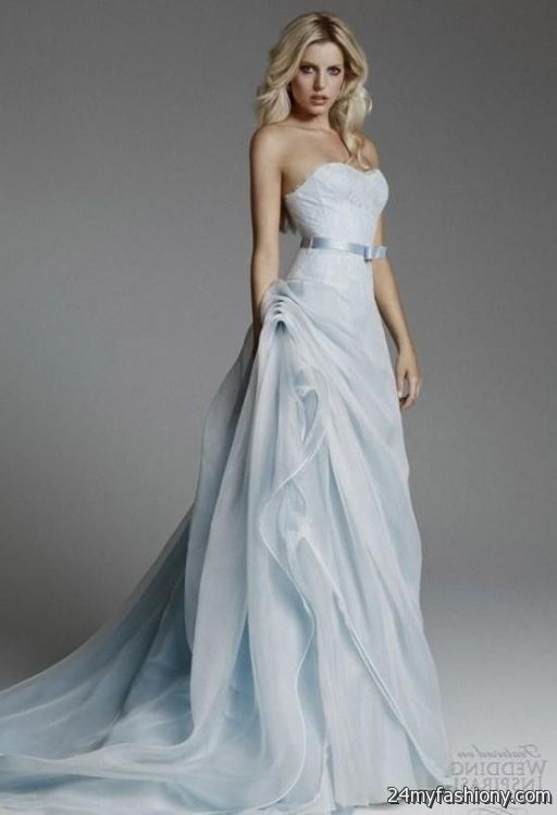 Periwinkle Wedding Dress Looks B2b Fashion