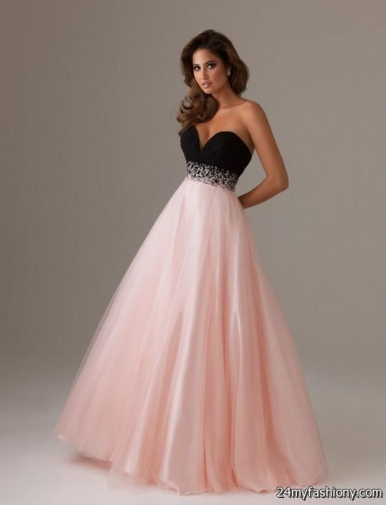 Pink And Black Prom Dresses Looks B2b Fashion