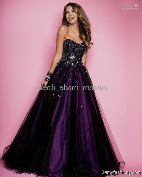 pink and black prom dresses 2016-2017 | B2B Fashion