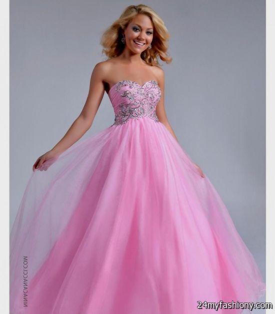pink ball gown prom dresses 2016-2017 » B2B Fashion