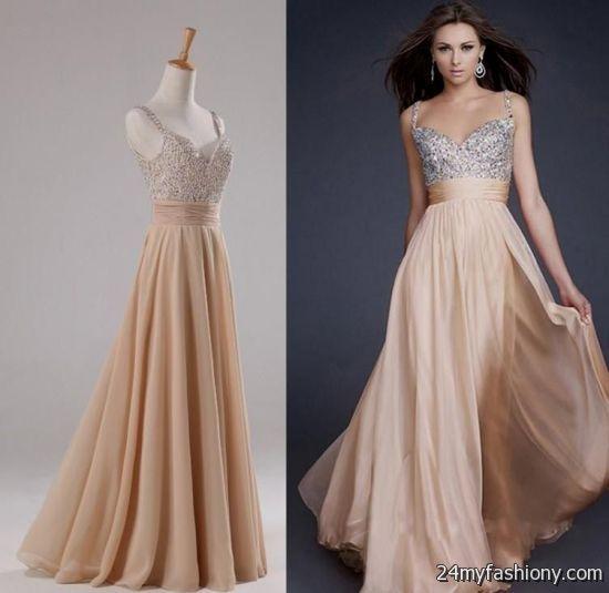 Champagne Pink Dresses