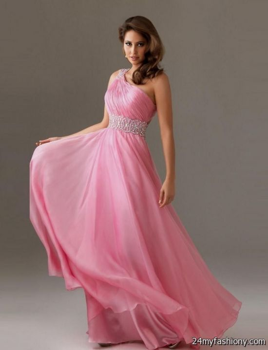 Pink Chiffon Bridesmaid Dresses - Ocodea.com