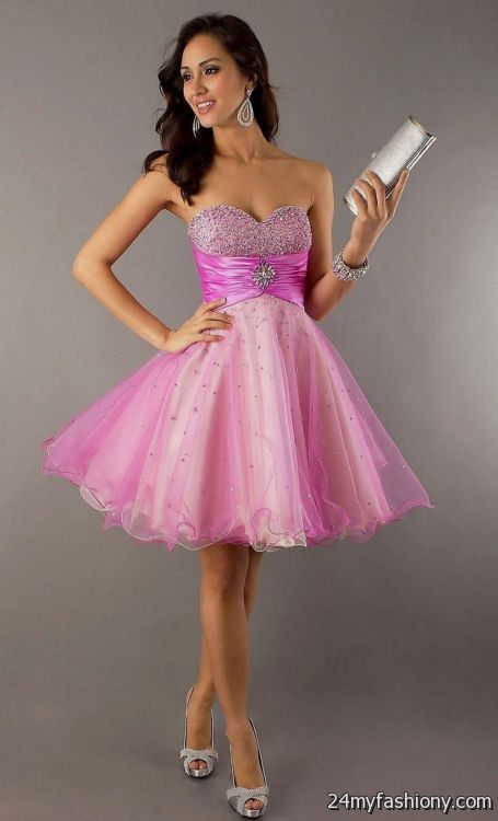 pink dresses for teenage girls 2016-2017   B2B Fashion