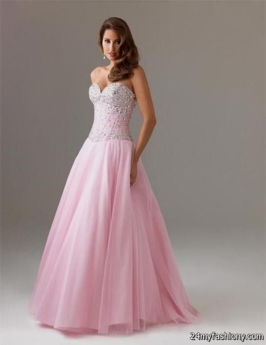 Pink Long Prom Dresses Photo Album - Reikian