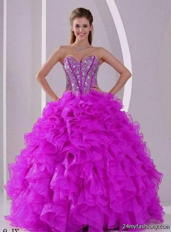 Big Puffy Prom Dresses 2017 Plus Size Prom Dresses