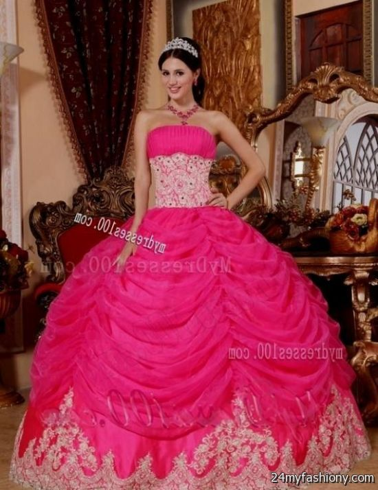 pink puffy quinceanera dresses 2016-2017 | B2B Fashion