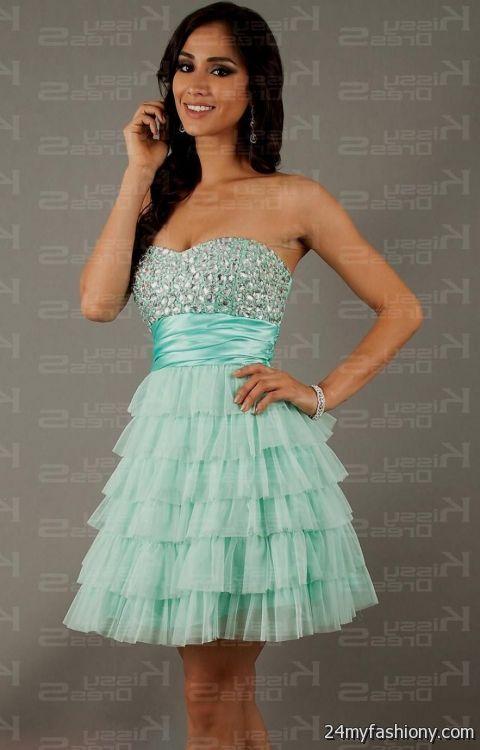 Pink Semi Formal Dresses For Teenage Girls 2016 2017 B2b Fashion