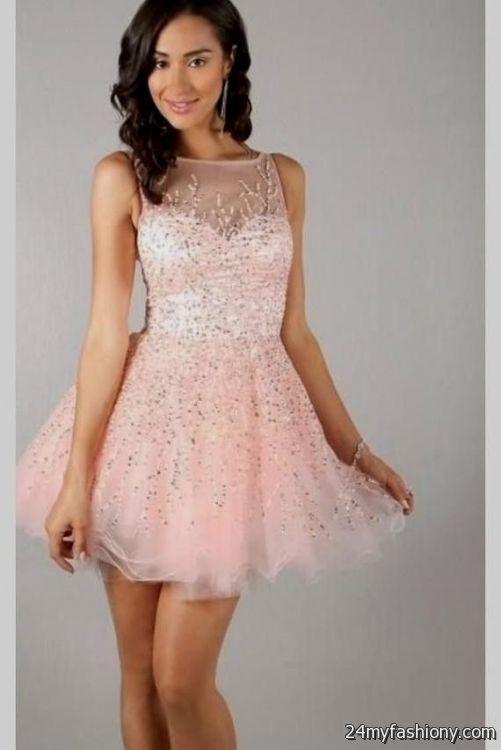 pink sparkly homecoming dresses 2016-2017 | B2B Fashion