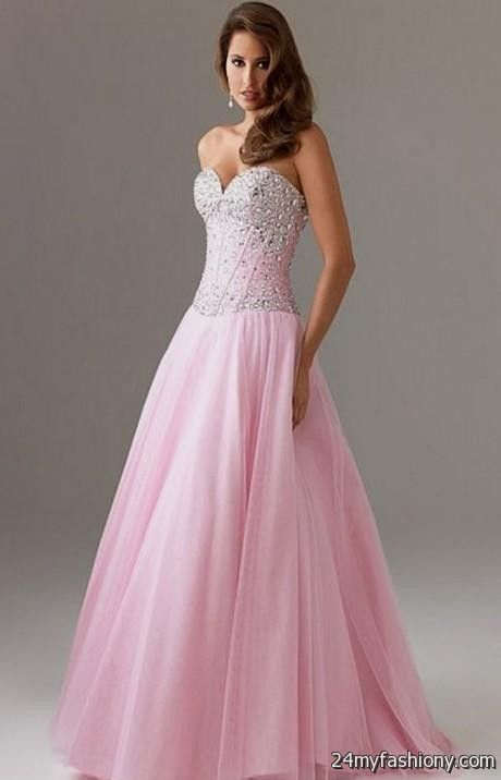 Awesome Pink Sparkly Prom Dress Contemporary - Beauty Styles and ...
