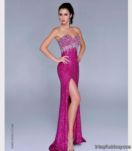 pink sparkly prom dresses 20162017 187 b2b fashion