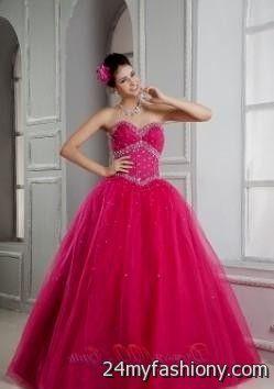 Pink sweet 16 dresses under 100 2017