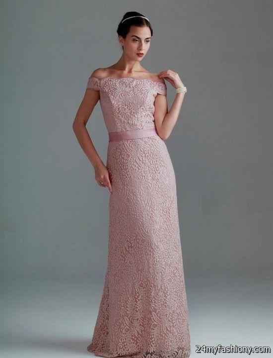 pink vintage lace bridesmaid dresses 2016-2017 » B2B Fashion