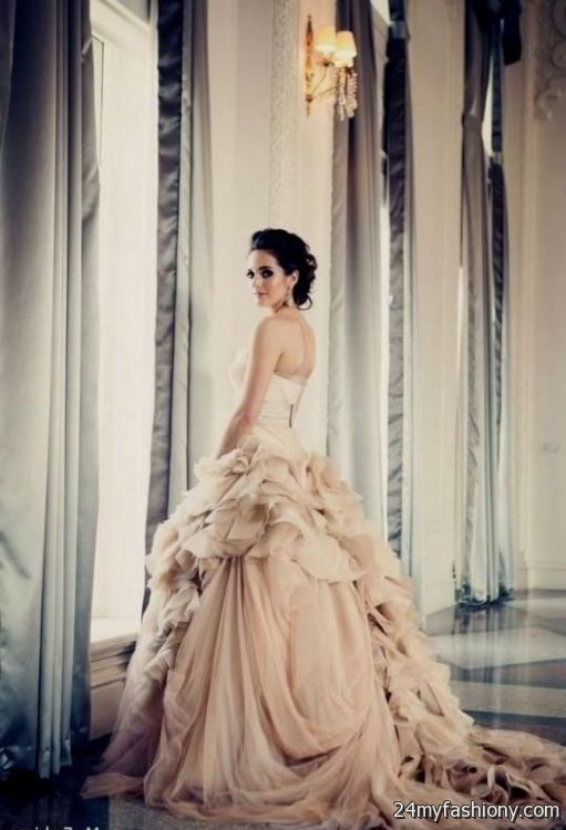 You Can Share These Pink Wedding Dress Vera On Facebook Stumble Upon My E Linked In Google Plus Twitter And All Social Networking Sites