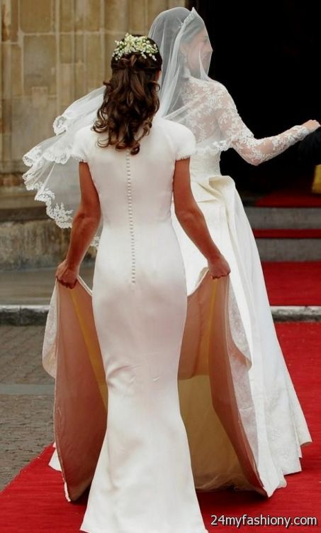 Pippa middleton wedding dress 2016 2017 b2b fashion for Wedding dress like pippa middleton
