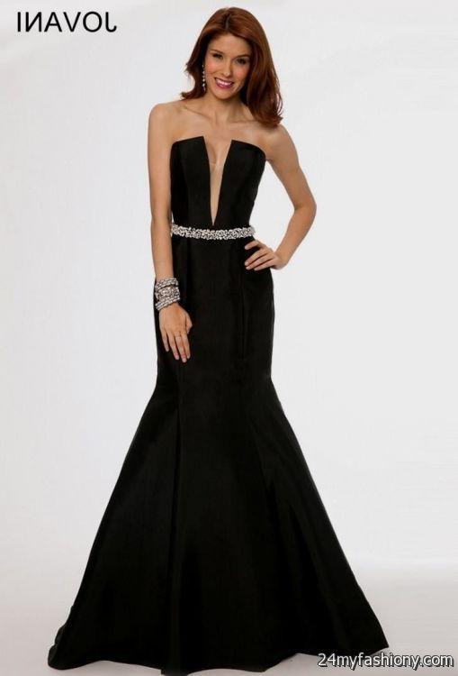 plain black mermaid prom dress 2016-2017 » B2B Fashion