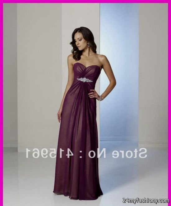 Plus Size Bridesmaid Dresses Plum
