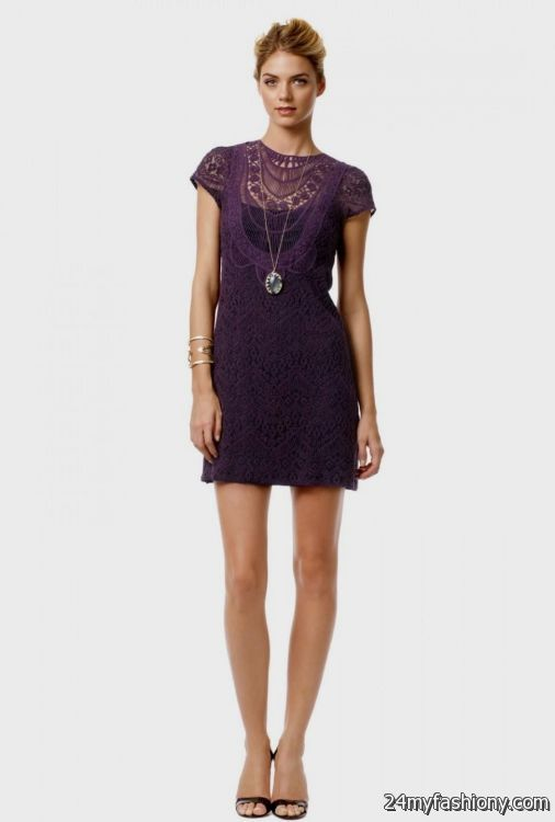 plum lace cocktail dress 2016-2017 » B2B Fashion