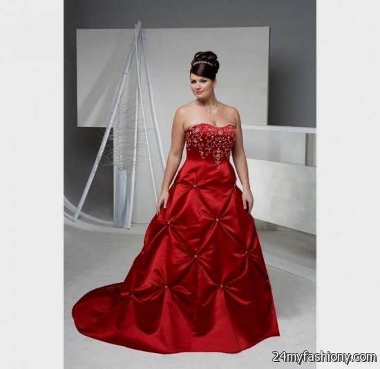 Plus Size Black Wedding Dresses : Plus size black and red wedding dresses b