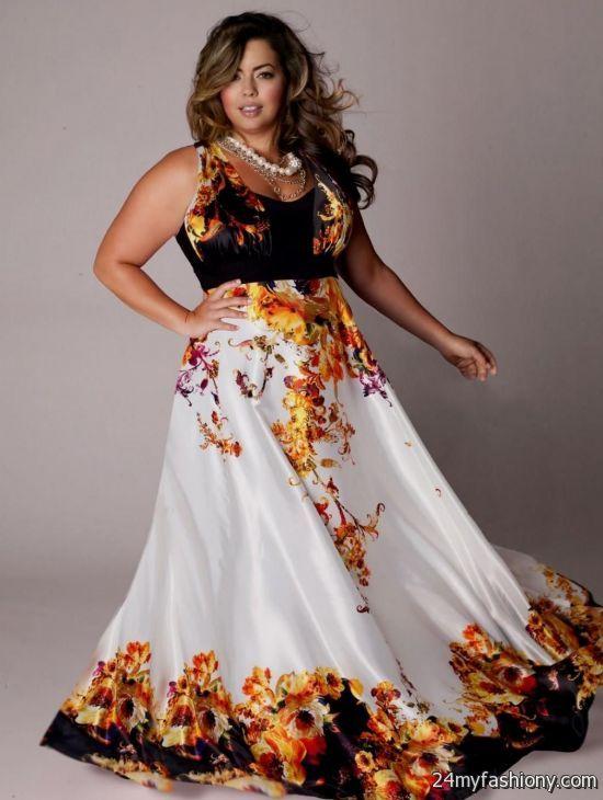 plus size bohemian summer dresses looks | B2B Fashion