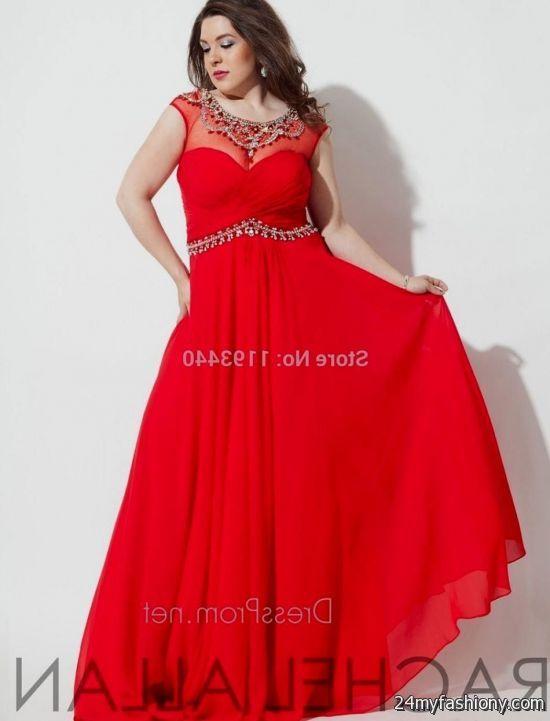 plus size prom dresses red looks | B2B Fashion
