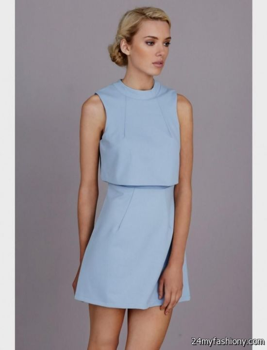 powder blue dresses 2016-2017 » B2B Fashion