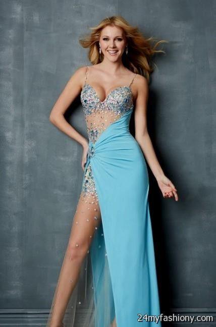 Pretty Blue Prom Dresses
