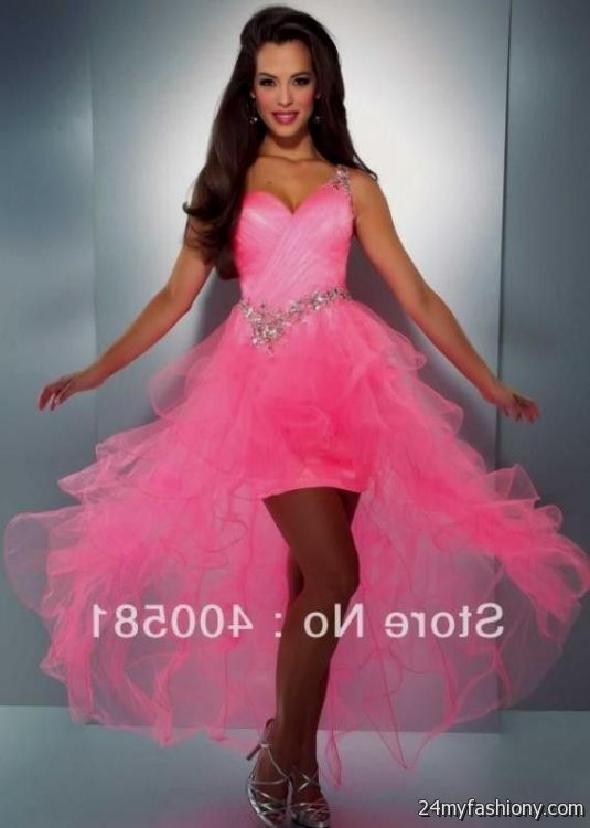 Tiffany Prom Dresses Hot Pink 53
