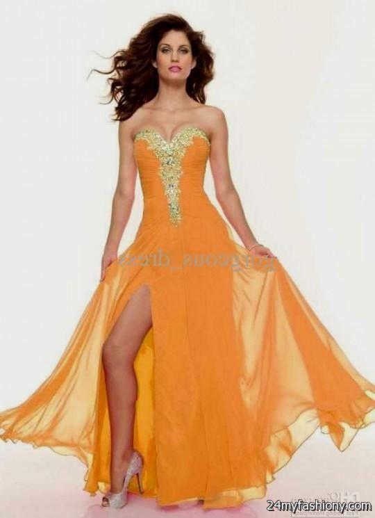 pretty orange prom dresses 2016-2017 » B2B Fashion
