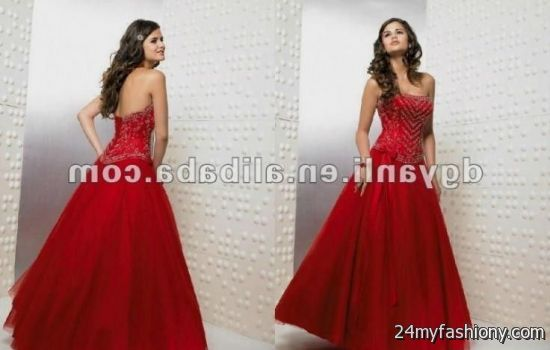 6f00cb0ee2c You can share these prom dresses lace up back on Facebook