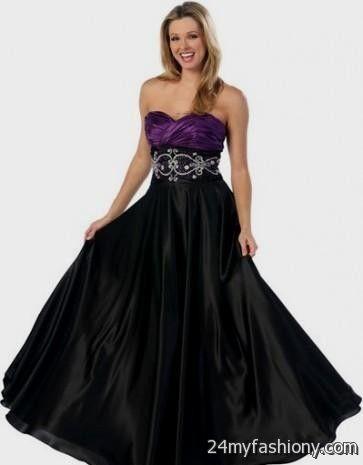 Purple And Black Prom Dresses Photo Album - Lotki